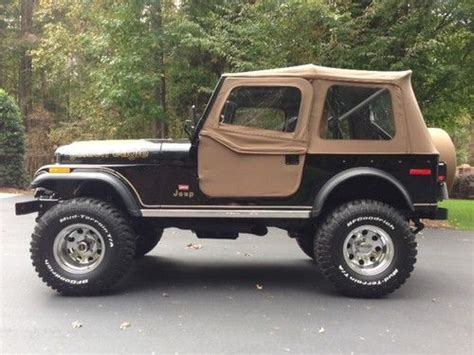 jeep eagle for sale buy used 1978 jeep cj7 golden eagle in lexington north