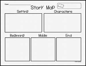 Timeline Chart C Graphic Organizers Fiction C Story Map Template