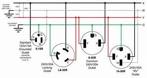 3 Prong 240v Outlet Diagram
