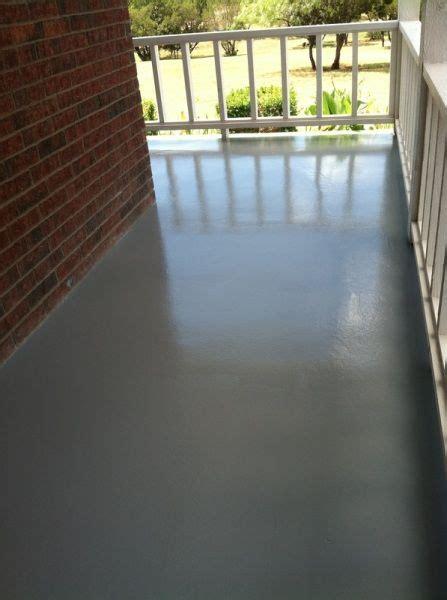 epoxy coating  wrap  porch abilene tx