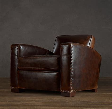 library leather chair leather restoration hardware