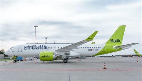 'airBaltic' saņem 31. 'Airbus' A220-300 lidmašīnu - DELFI