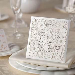 10 petals laser cut wedding invitations diy wedding With laser cut wedding invitations us