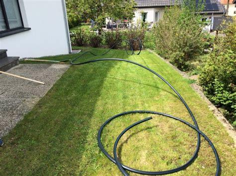 wasserleitung im garten verlegen eine unterirdische wasserleitung zur gartenbew 228 sserung