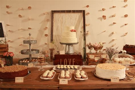 Sweets Table Decoration For A Vintage Wedding