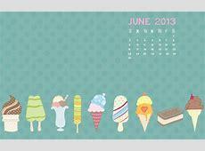 June 2013 Desktop Calendar Background Happiness is Homemade