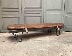 banc daybed ancien tapis cuir With tapis de gym avec canapé ancien cuir