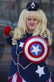 Captain America Costume Comic-Con