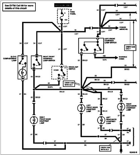 1994 Econoline E4od Wiring Schematic by 1996 Bronco F Series