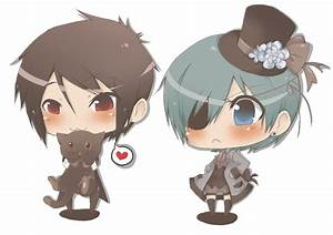 sebastian and ciel chibis by techniclick-05 on DeviantArt