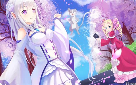 anime re zero starting in another world emilia re
