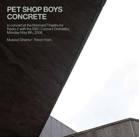 concrete pet shop boys product