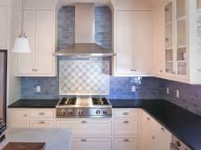 kitchen subway tile backsplash blue subway tile kitchen backsplash images