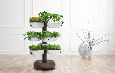 Tower Garden System Promises A Low-maintenance Indoor