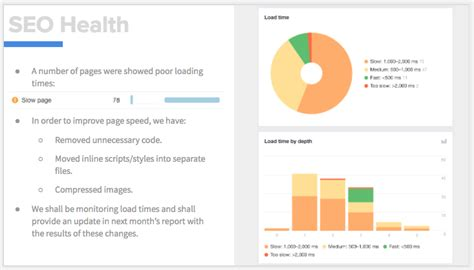 steal  seo report template