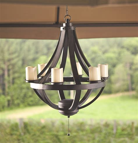 battery operated outdoor chandelier battery operated gazebo chandelier cardealersnearyou