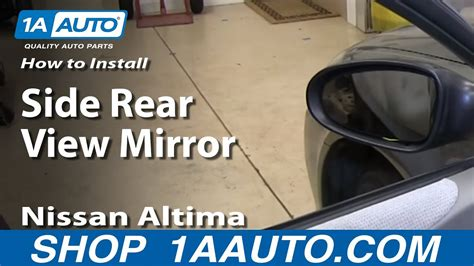 install replace remove side rear view mirror