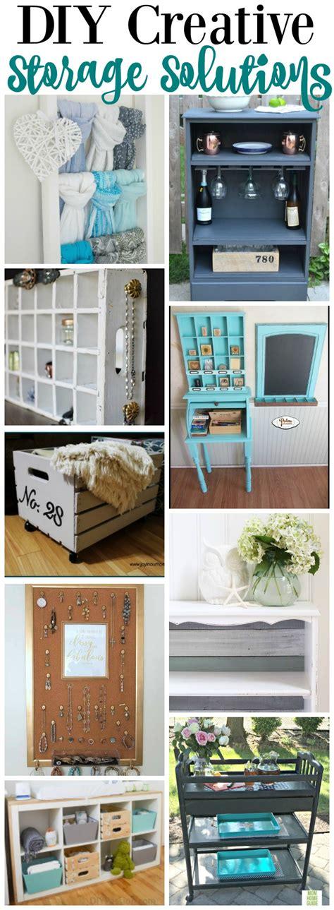 creative storage solutions 20 diy super creative storage solutions the happy housie