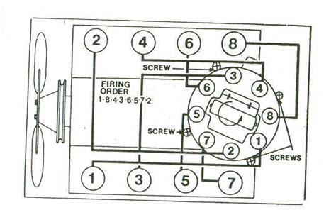 81 Chevy 350 Firing Order Diagram