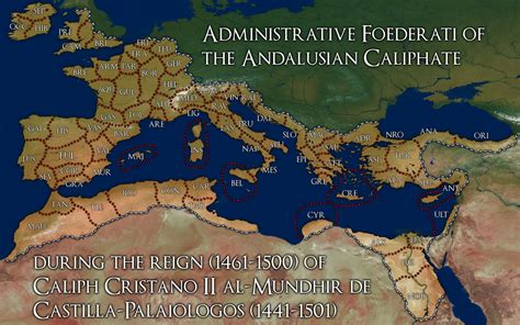 map caliphate history alternate andalusian abbreviations codes official