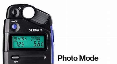 Sekonic Meter Flashmate 308x Versatile Affordable Meters