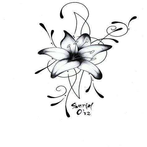 Dessin Fleur Affordable Fleur Noir Et Blanc Clipart U