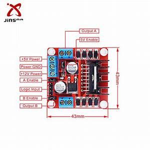 L298 Stepper Motor Driver Schematic