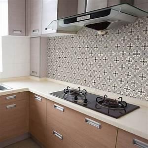 Stickers Carreaux Cuisine : 60 stickers carreaux de ciment azulejos arita cuisine ~ Preciouscoupons.com Idées de Décoration
