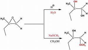 Draw The Major Product Formed When The Following Epoxide
