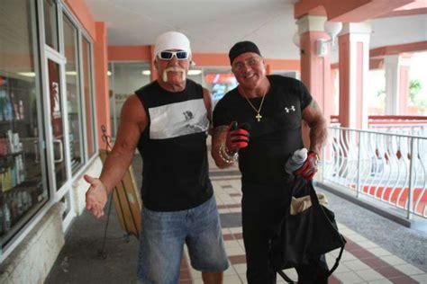 longtime friends hulk hogan brutus beefcake  feuding