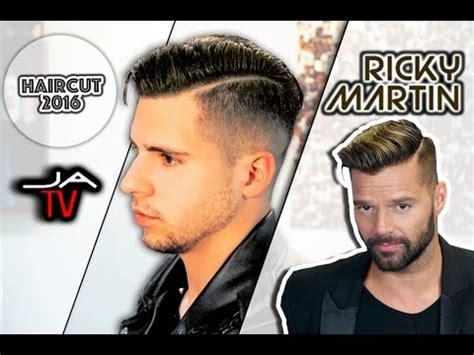 ricky martin corte de pelo ricky martin hairstyle corte