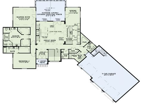 Open Concept Home Plans by Rustic House Plans With Open Concept Rustic House Plans