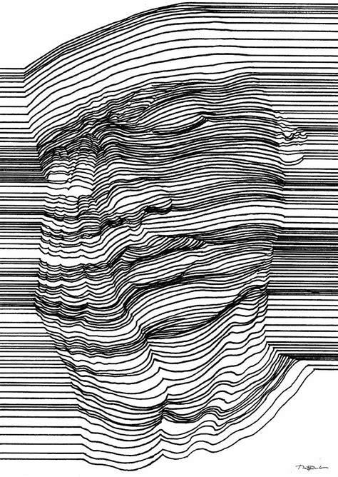 Poster Optische Täuschung by Optische T 228 Uschung Mit 3d Effekt Durch Geschickte