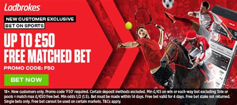 Ladbrokes Review  £50 Matched Bet  Free Bets & Bonuses  Latest Betting Offers
