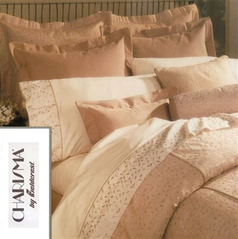Sloane by Charisma, Luxurious silk like dusty peach background fully embroidered. Original
