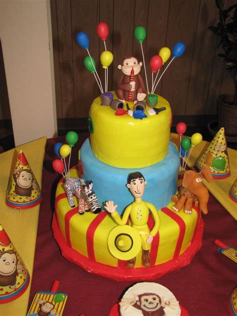 curious george cake curious george birthday pinterest