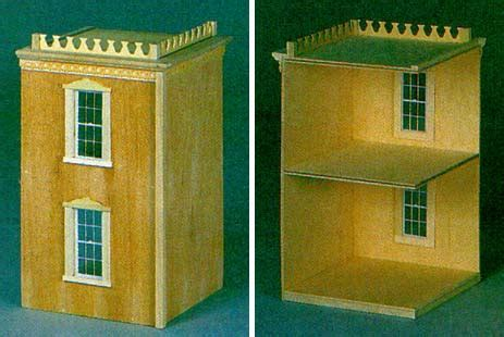 Lilliput Houses from FINGERTIP FANTASIES Dollhouse Miniatures