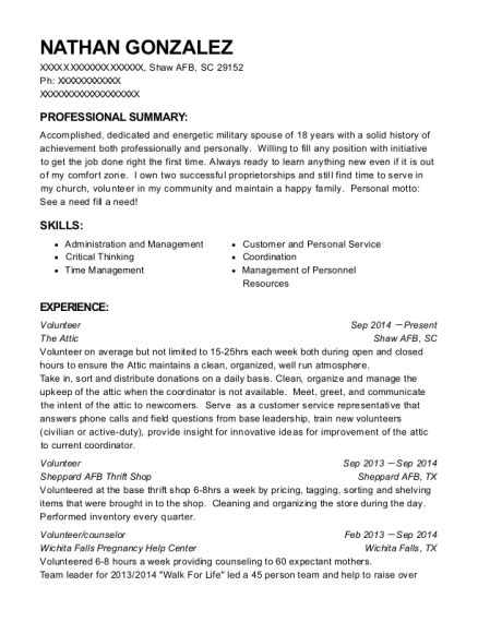 Spouse Resume by Best 365 Trs Key Spouse Resumes Resumehelp
