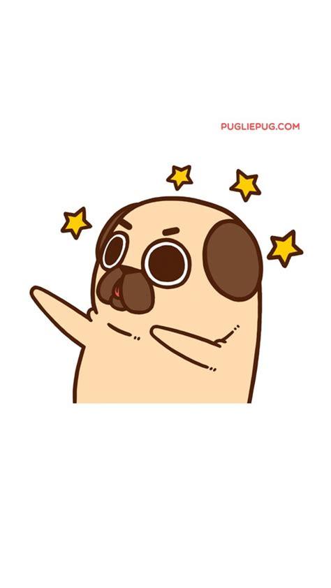 pug clipart cute cartoon pencil   color pug clipart