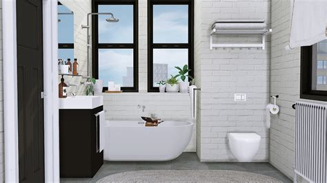 Sveta Bathroom By Mxims Liquid Sims