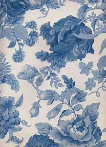 Blue Floral iPhone Wallpaper | Blue floral wallpaper, Blue ...