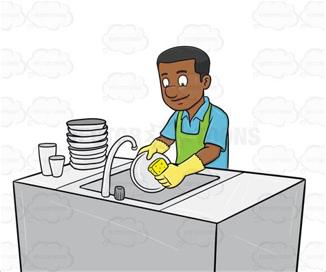 Washing Dishes Clipart Washing Dishes Clipart Clipground