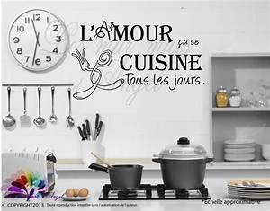 Stickers Muraux Cuisine : stickers muraux pour cuisine ~ Premium-room.com Idées de Décoration