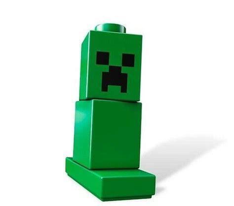 lego minecraft creeper minifig    custom