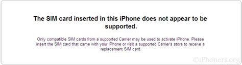 sim not supported iphone 5 solved bricked cant restore or fix iphone 3gs ifixit