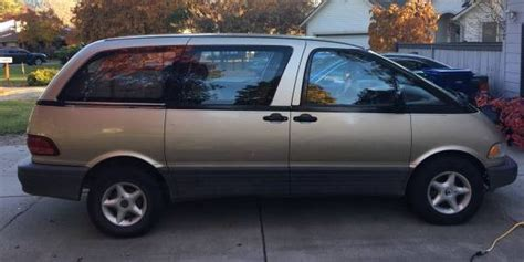 buy  manual rear wheel drive mid engine minivan