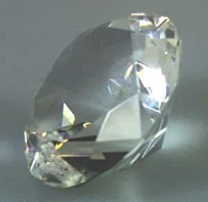 glas kristalle diamant  cm hochzeit feng shui tisch