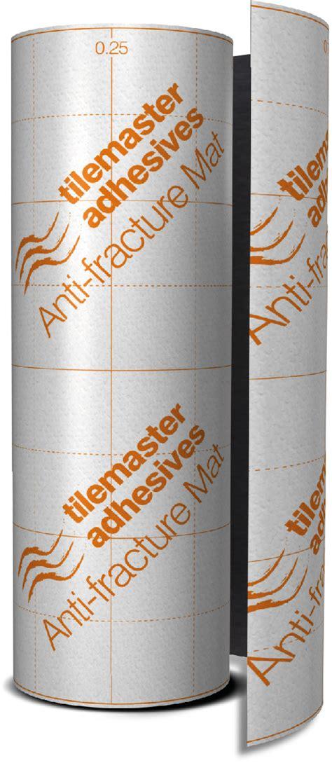 adhesive tile mat tilemaster adhesives anti fracture mat