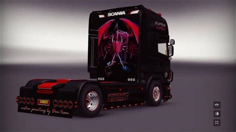 ets scania sarantos   simulator games mods