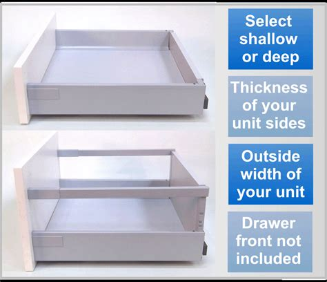 Kitchen Cabinet Drawer Replacement by Replacement Kitchen Drawers Soft Drawer Box Kit